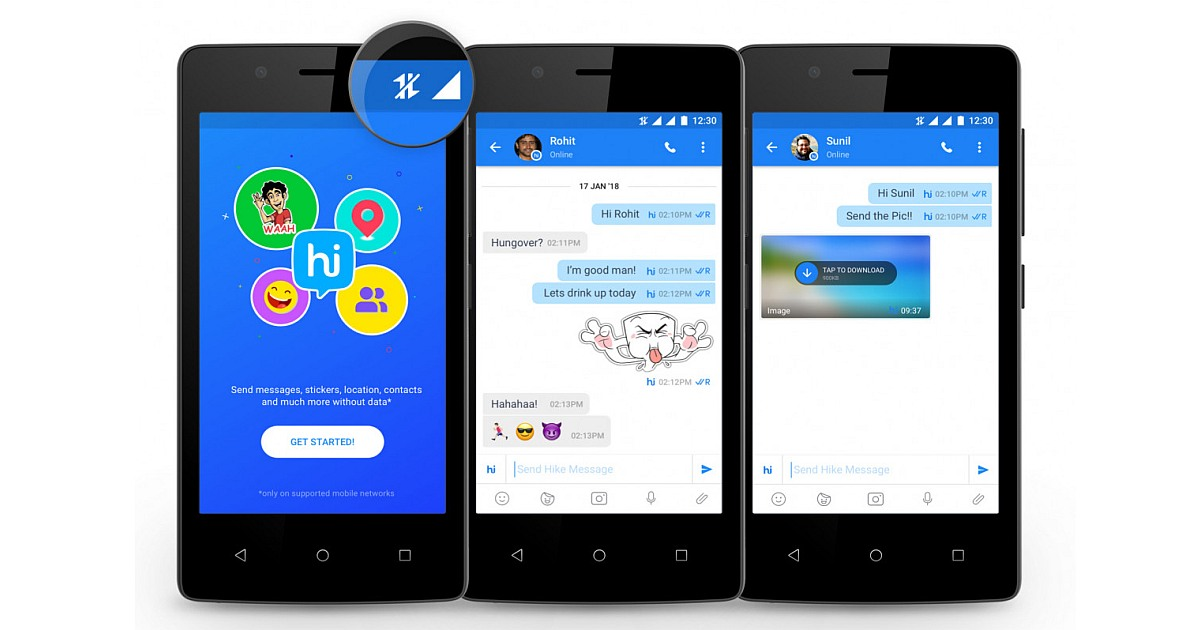 Latest services from Hike Messenger